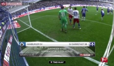 ไฮไลท์ฟุตบอล บุนเดสลีกา ฮัมบูร์ก 1-2 ดาร์มสตัดท์