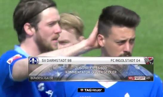 ไฮไลท์ฟุตบอล บุนเดสลีกา ดาร์มสตัดท์ 2-0 อิงโกลสตัดท์