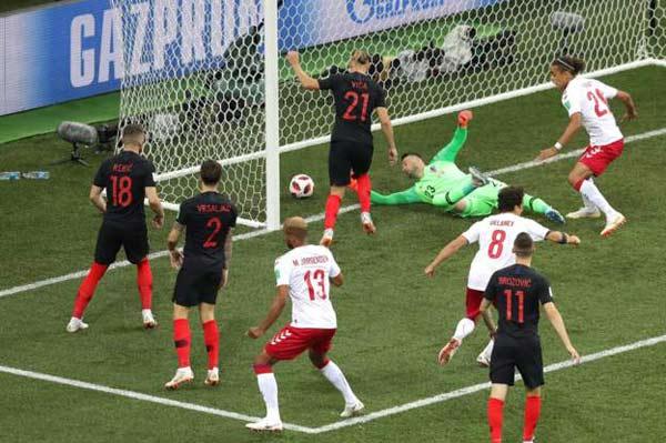 ไฮไลท์ฟุตบอล บอลโลก 2018 โครเอเชีย 1-1 (Pen 3-2) เดนมาร์ก