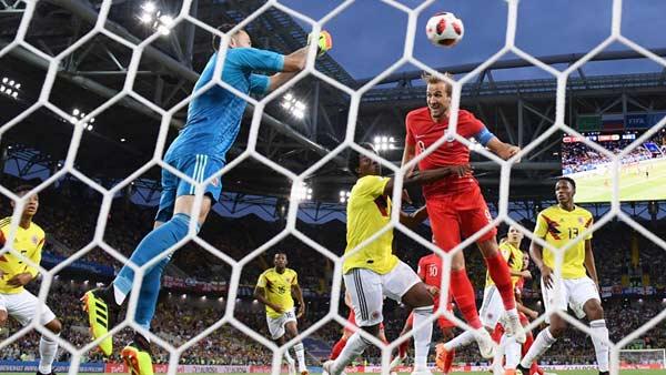 ไฮไลท์ฟุตบอล บอลโลก 2018 โคลอมเบีย 1-1 (Pen 3-4) อังกฤษ