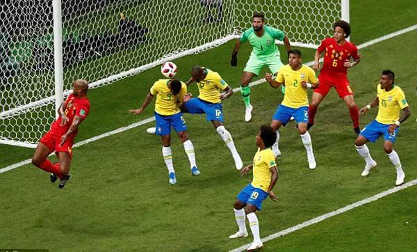 ไฮไลท์ฟุตบอล บอลโลก 2018 บราซิล 1-2 เบลเยียม