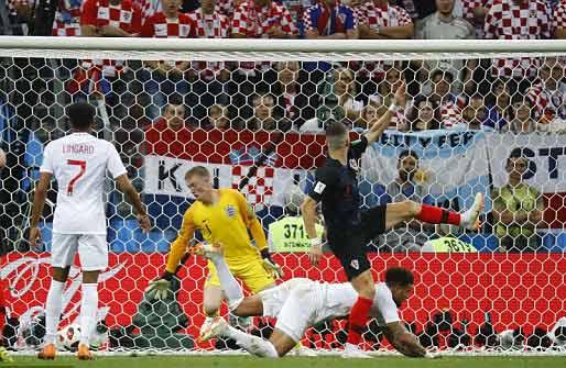 ไฮไลท์ฟุตบอล บอลโลก 2018 โครเอเชีย 2-1 อังกฤษ