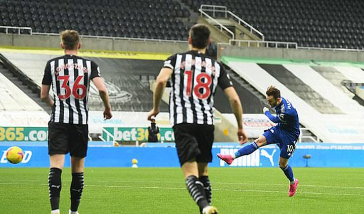 ไฮไลท์ฟุตบอล พรีเมียร์ลีก นิวคาสเซิ่ล 1-2 เลสเตอร์